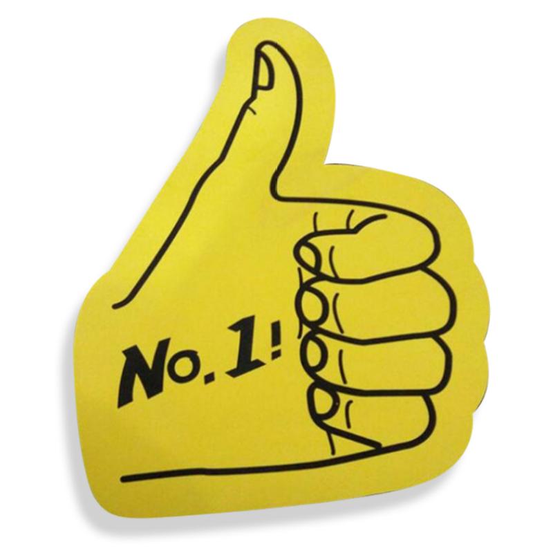 High quality big foam hand cheering foam finger sponge finger celebrate