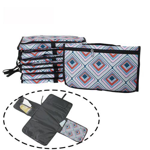 Hot sale colorful  portable baby diaper changing pad