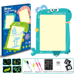 Wholesale high quality magic lamp drawing board toys can be customized