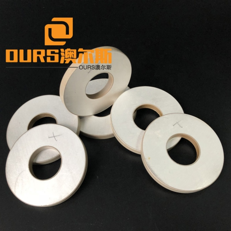 Factory Hot Sale Piezoceramic Ring Shape Piezoelectric Ceramic/Wafer 20x20x5MM Electrical Piezo  Components Ptz8 Material
