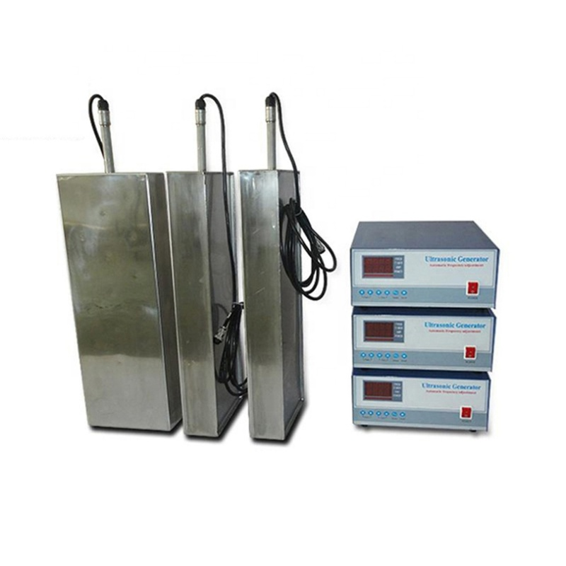 Factory Manufacture Various Frequency Industrial Ultrasonic Cleaner Accessory Submersible Vibrating Plate For Cleaner Tank 3000W