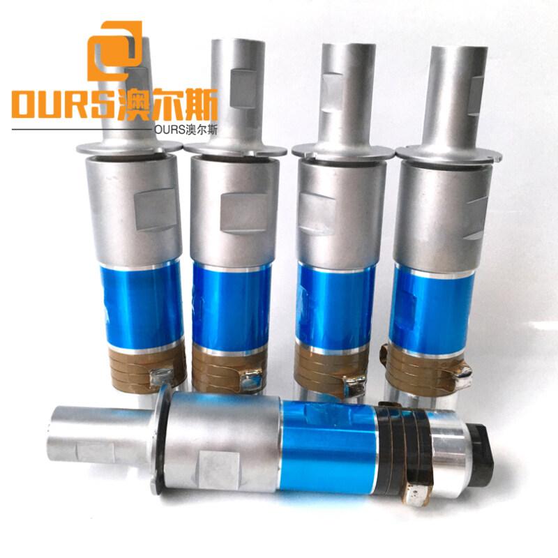 1500W  20khz Ultrasonic Welding Power Transducer For Ultrasonic Welding Rubber,Silica Gel