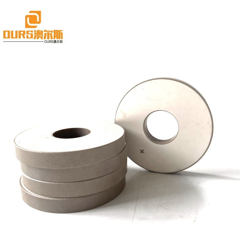 Frequency 20KHZ Ring Ultrasonic Piezoelectric Ceramic 50x17x6.5MM Size Use For Plastic Welding Transducer