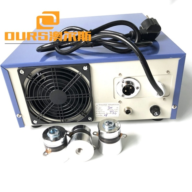 Power And Time Adjustable Ultrasonic Generator 600W Output Power Ultrasound Power As Cleaning Transducer Driving Generator