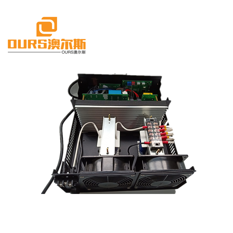 2000W 19khz-48khz Frequency Adjustable Ultrasonic cleaning Transducer Power Ultrasonic cleaning Generator And Transducer