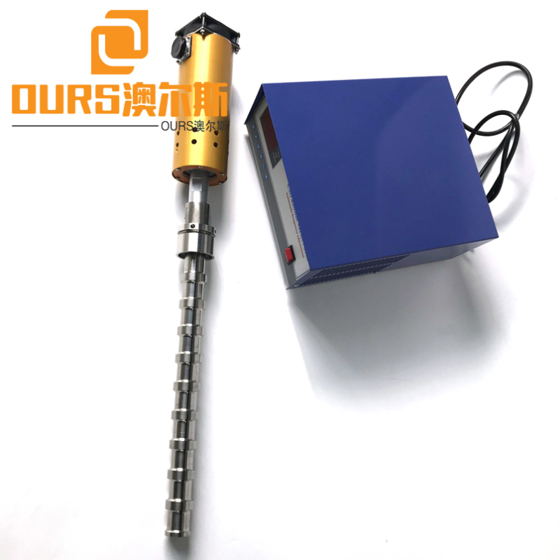 2000W 20KHZ ultrasonic reactor method for Biodiesel Processing ultrasonic biodiesel reactor