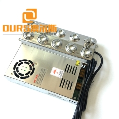 High Quality 10 Head 250W Ultrasonic Atomization Transducer Used For Hotel Viewing Spray