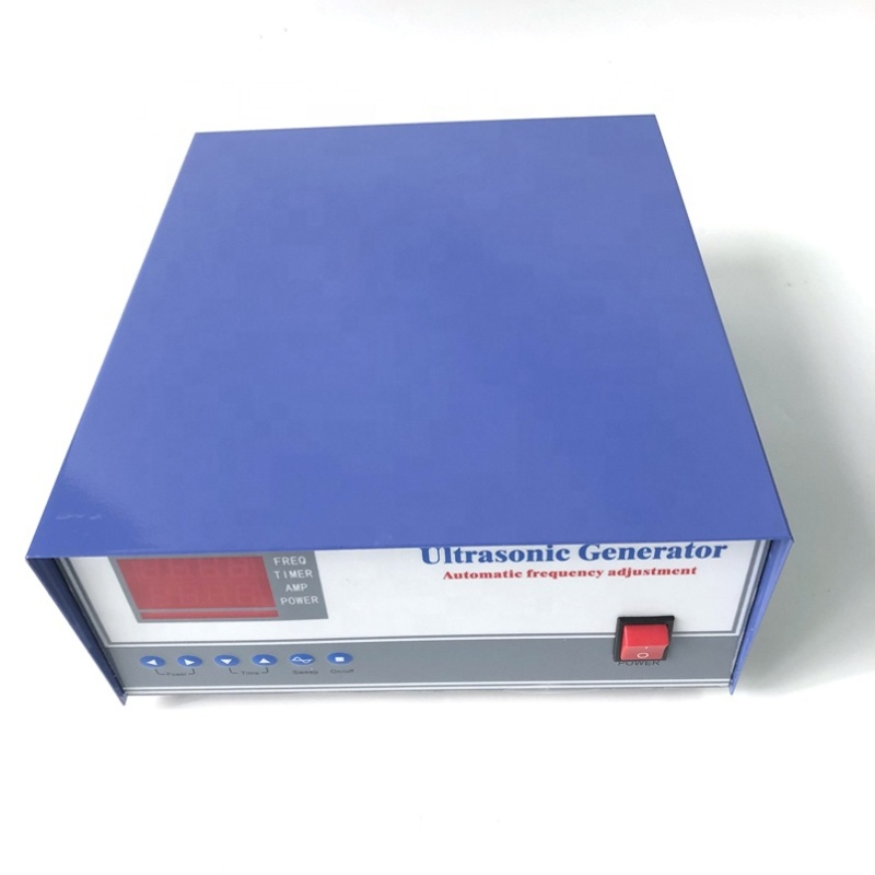 20/28/33/40KHz 1000W Digital Ultrasonic Cleaning Generator For Metal Mold Parts Washing Tanks