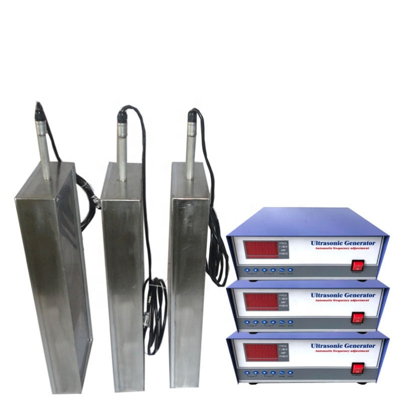 20KHz Ultrasonic Cleaner Transducer 1200W Stainless Steel Immersible Ultrasonic Vibration Plate