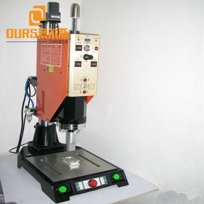 20khz Ultrasonic Face Mask Making Machine With Horn 20x200mm 2000W Ultrasonic Welding Equipment