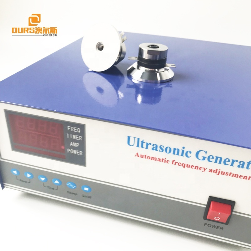 25khz/80khz 600W dual frequency ultrasonic generator,25khz/80khz Dual Frequency piezoceramic Generator