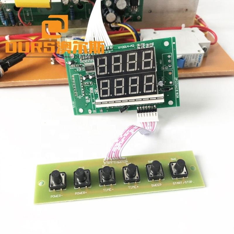 Ultrasonic Cleaner Tank Power Various Frequency Ultrasonic Generator  PCB 17K-48K With Power And Time Adjustable As Driver