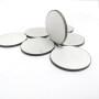 piezoelectric ceramic discriminator 5mm disc Ultrasonic piezoelectric ceramic wafer 1MHZ 2MHZ and 3MHZ