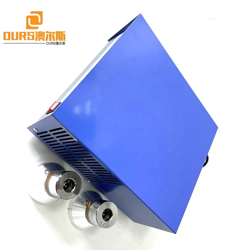 200W-1200W Power And Frequency Adjustable 28K/40K Ultrasonic Generator As Industrial Oil Rust Cleaning Equipment Driver