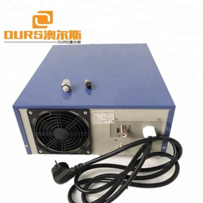 1800W different frequencies Ultrasonic acoustic Generator for Cleaning machine