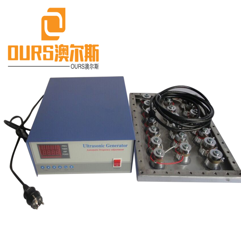 1000w 25KHZ/40khz/80khz Multi-frequency Submersible Ultrasonic Transducers Pack For Ultrasound Washer Machine