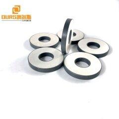 Diameter 38mm Ring Piezoelectric Ceramic Material For Ultrasonic Cleaning Sensor 28khz/40khz