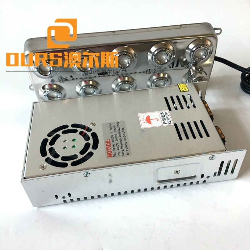 10Heads 230W Humidifier Ultrasonic Atomizing Piezoelectric Transducer For Papermaking Industry