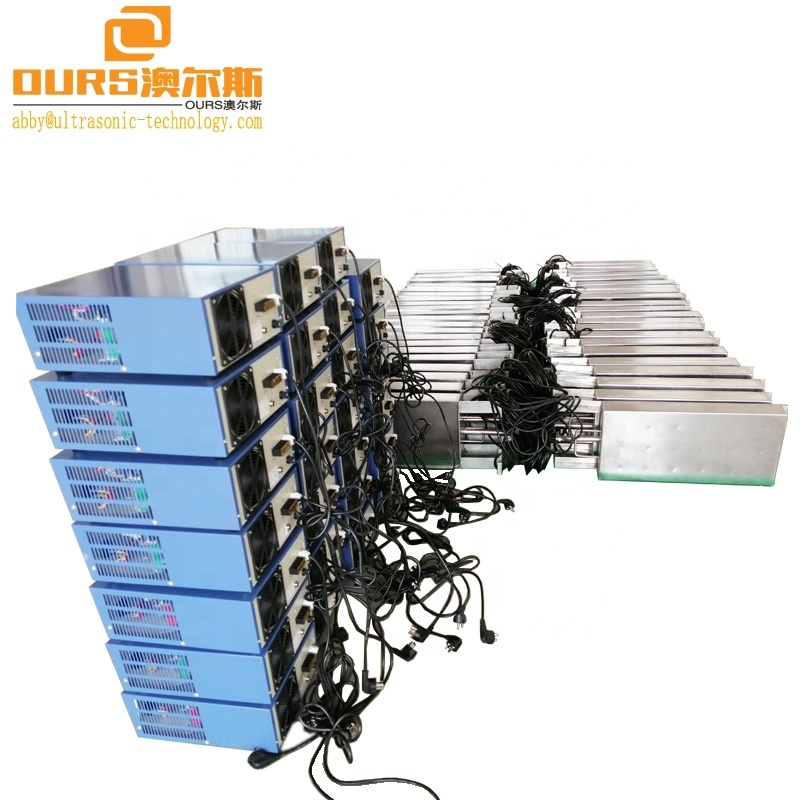 28KHz/33KHz/60KHz Three Frequency Generator Control Immersible Ultrasonic Transducer