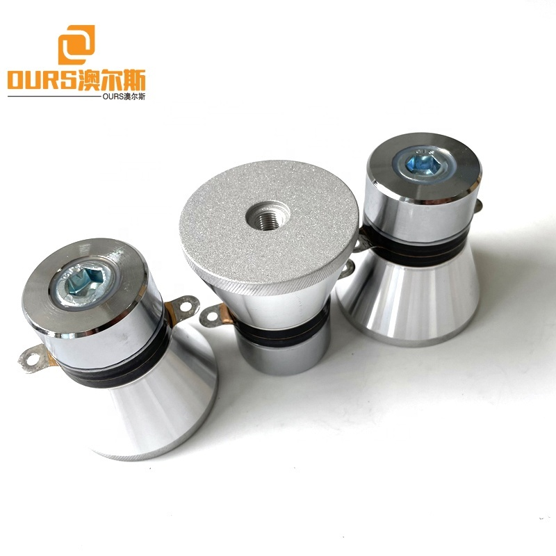 28KHZ 60W Frequency Ultrasonic Vibration Cleaning Sensor For Korean Vegetable Cleaning Machine Tank