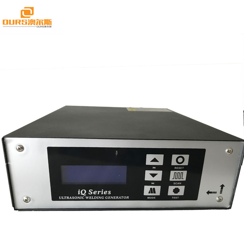 2600W/15khz ultrasonic welding generator with welding transducer for plastic welding machine and Bag Making Machinery