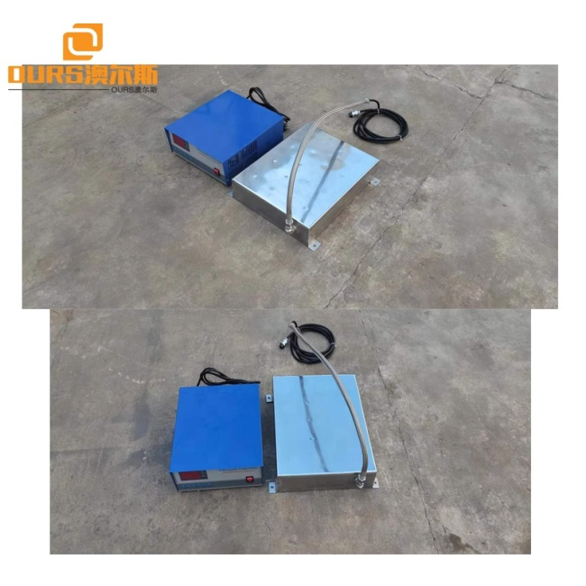 Waterproof Ultrasonic Cleaning Sensor Pack And Generator 28KHZ 5000W As Cylinder Mechanical Parts Cleaning Machine