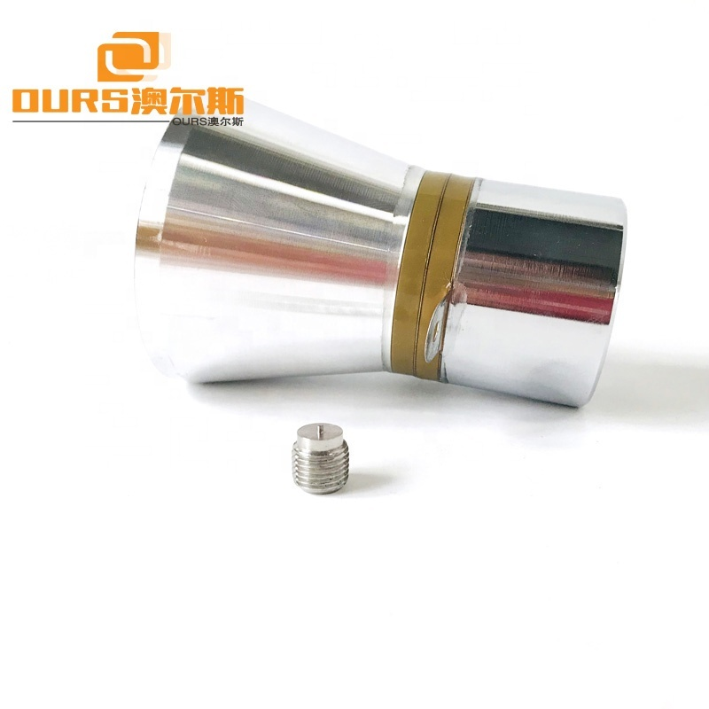 100W High Power Piezoelectric Ultrasonic Transducer 20KHz Low Frequency Ultrasonic Transducer