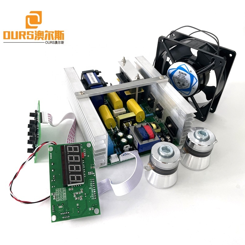 28KHZ 300W Heatable Ultrasonic Cleaner Circuit Generator Board Used On Bearing Metal Parts Ultrasonic Washing Machine