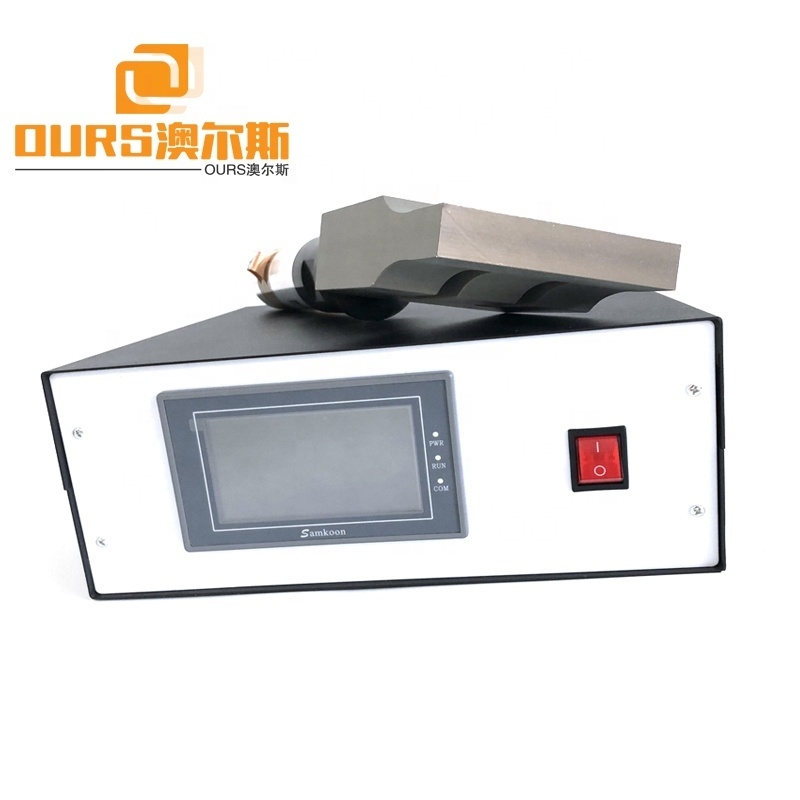 2000W 20KHz Ultrasonic Generator Transducer Horn Unit Used For Disposable Protective Face Cover Kn95 Masker