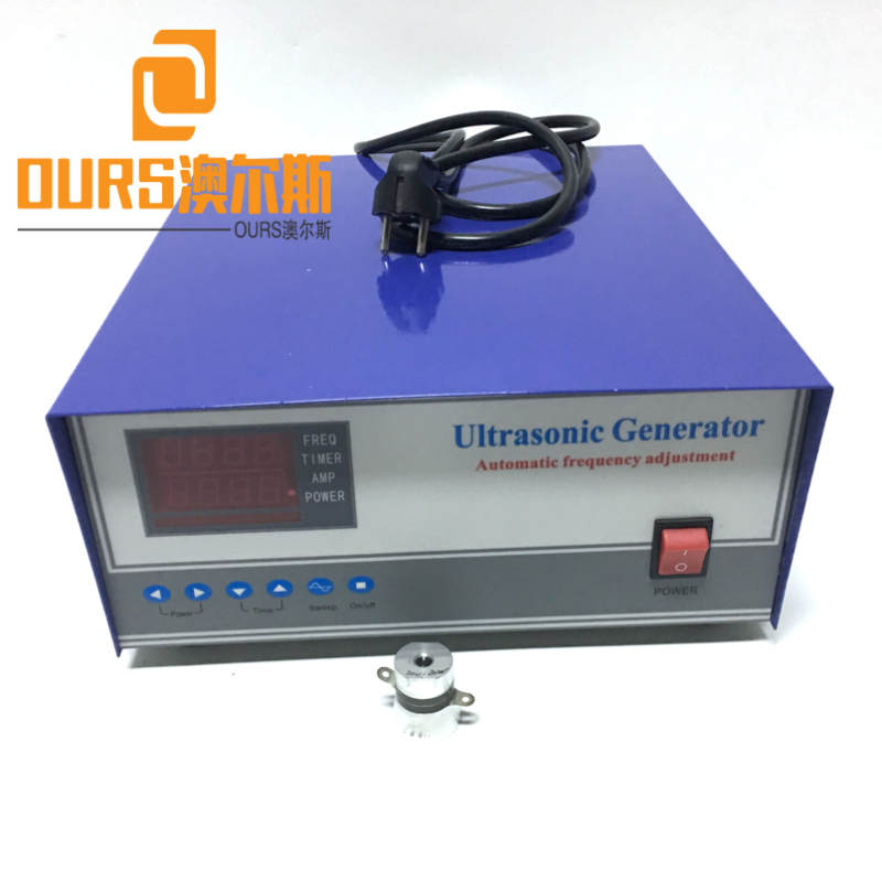 600W/28khz Digital Ultrasonic Descaling Cleaner Power Generator For Ultrasonic Dishwasher