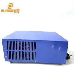 Commercial Pulse Wave 28K/40K Ultrasonic Generator Used On Kitchen Cleaning Machine For Grease Hood Filter Carbon Removal