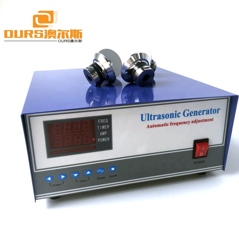 2400W Digital ultrasonic transducer Generator Power Supply Driver For Industrial Parts Cleaner