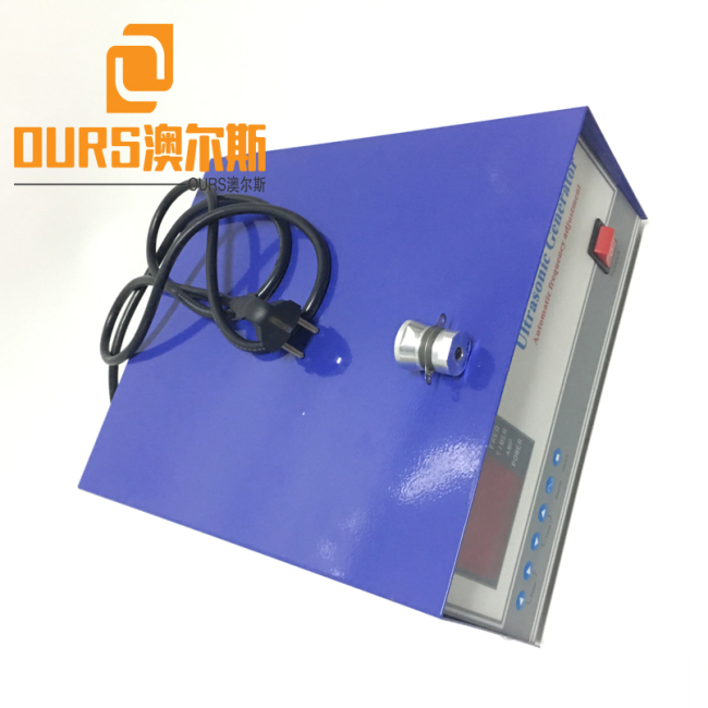Factory Sales 50KHZ High Frequency  1200W Ultrasonic Sound Generator For Cleaning Glass Lenses