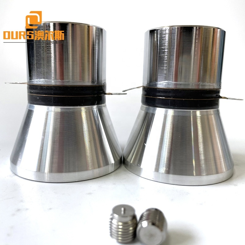 Frequency 25KHZ 100W Ultrasonic Piezoceramic Transducer As Industrial Hardware Oil Rust Cleaning Equipemnt Vibrator