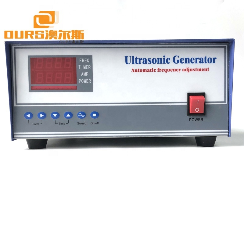 200KHz High Frequency Piezoelectric Transducer Ultrasonic Generator Price Industrial Cleaning Machine