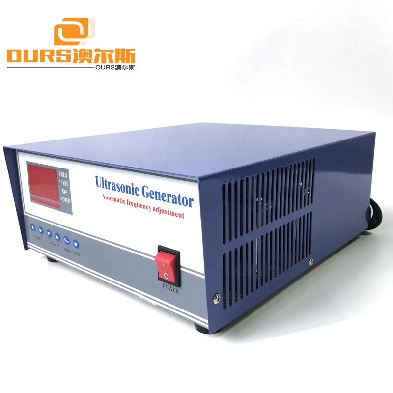 28KHz Ultrasonic Low Frequency Vibration Generator 2000W Ultrasonic Pulse Generator For Ultrasonic Cleaning System