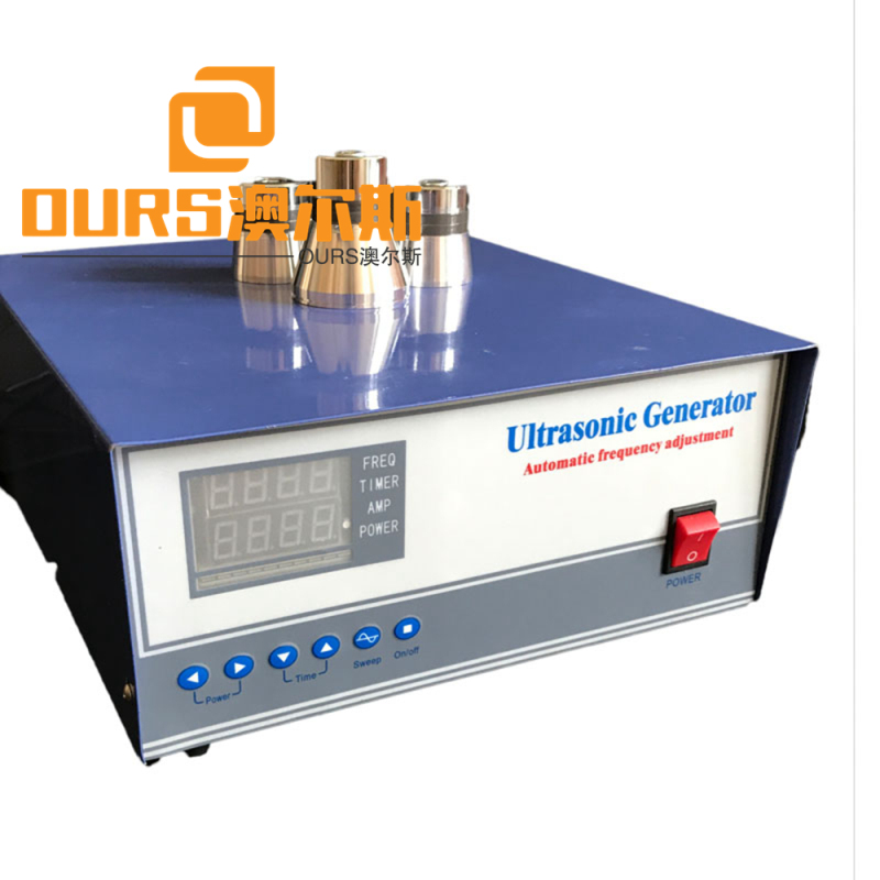 1200W 40KHZ ultrasonic generator with sweep function with Power Adjustable For Industrial Cleaning