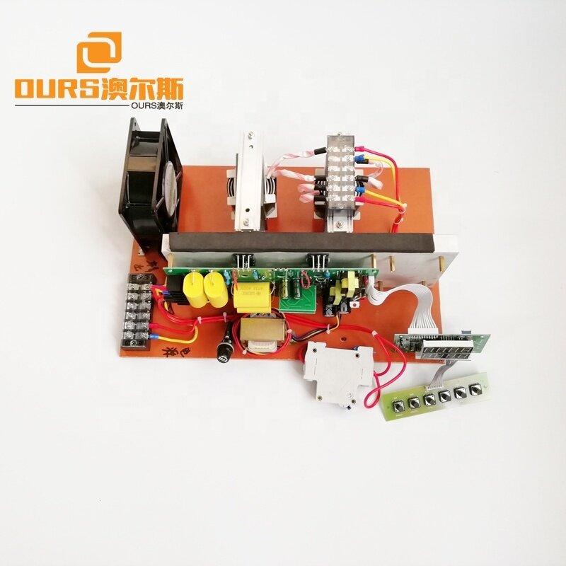 600W ultrasonic circuit with ultrasonic transducer for cleaning machine 20khz,25khz,28khz,30khz,33khz,40khz