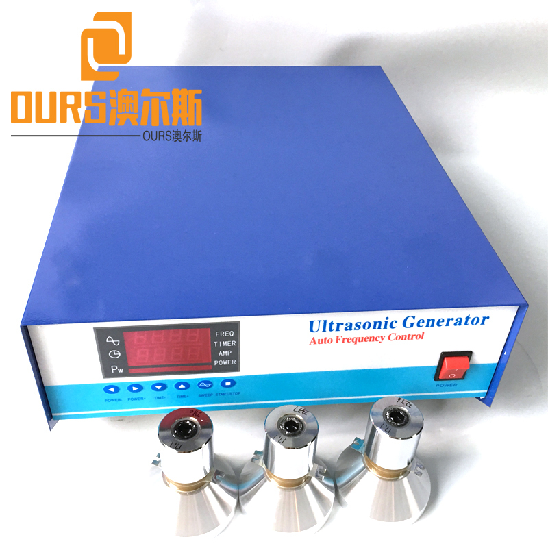 1200W Dual-Frequency Ultrasonic Cleaning Generator for Waterproof Submersible Ultrasonic Cleaner