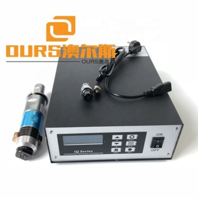 Latest 20khz ultrasonic welding generator and transducer high quality 2000w