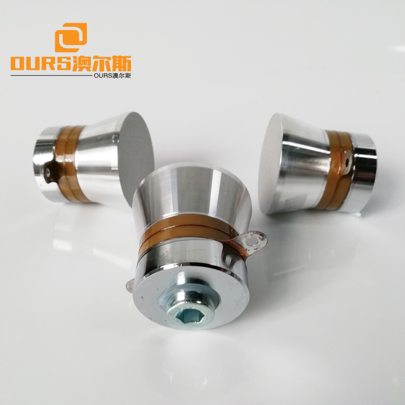 60W PZT8 Ultrasonic Transducer 40KHz Used In Ultrasonic Cleaner Machine