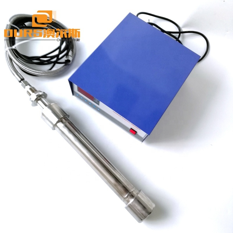 25 / 27KHz 600W/1000W/1500W  Immersible Ultrasonic Cleaning Submersible Vibration Rods With Ultrasonic Generator For Cleaner