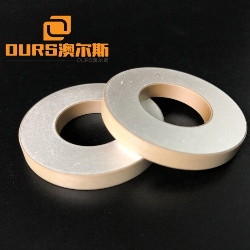Factory Wholesale Ring Type Ultrasonic Piezo Material Ceramics 40x20x5mm Ultrasonic Cleaning Vibrator Piezoelectric Wafers