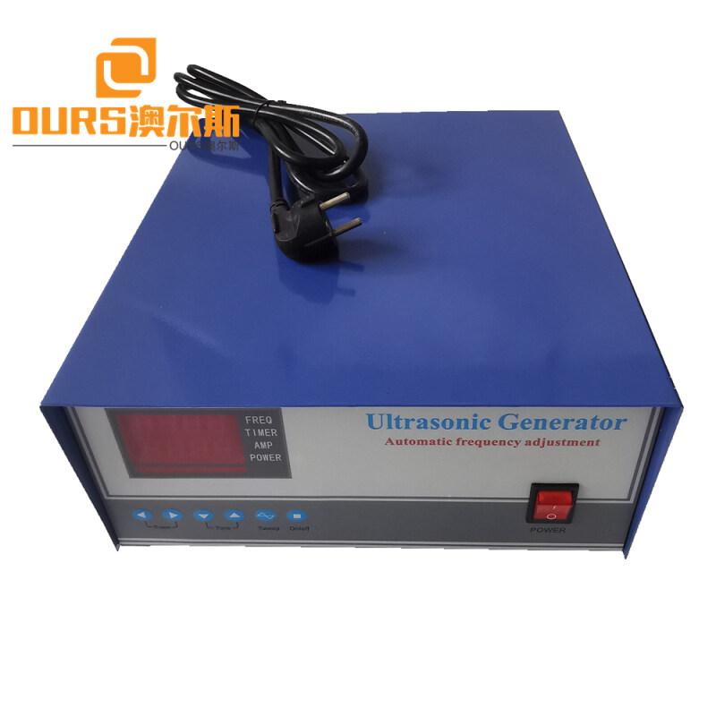 900W Ultrasonic Cleaning Generator For Ultrasonic Transducer Vibration Board/Ultrasonic Vibration Plate 20-40KHZ