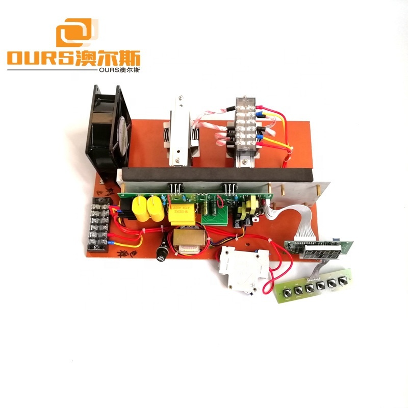 90KHz 600W/1200W High Frequency Piezoelectric Transducer Circuit For Industrial Cleaning