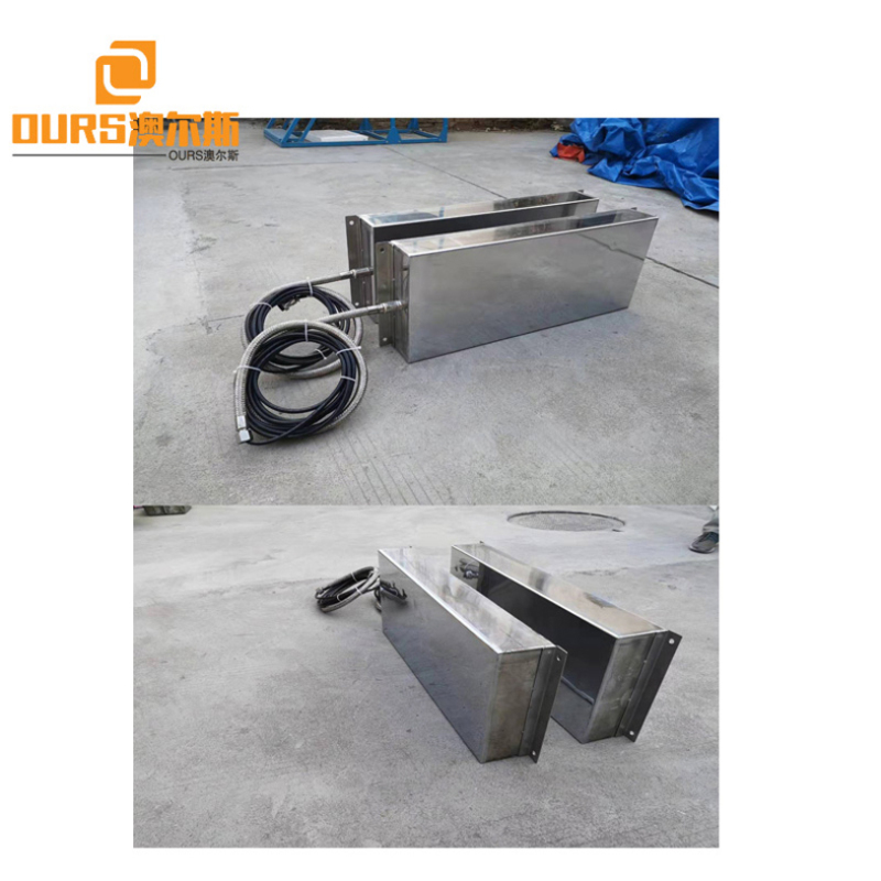 1200W Stainless Steel Immersible Ultrasonic Cleaning Transducer Machine For Industrial Electroplating Aerospace Industry