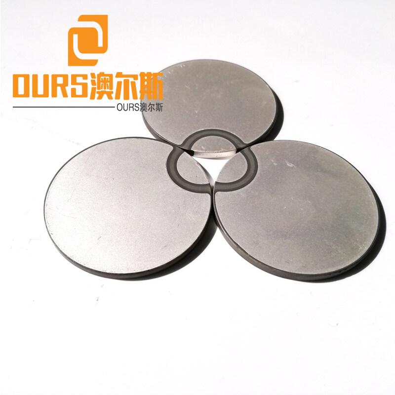27.4*10mm  Disc Piezoelectric Ceramic Ceramtec For Cleaning