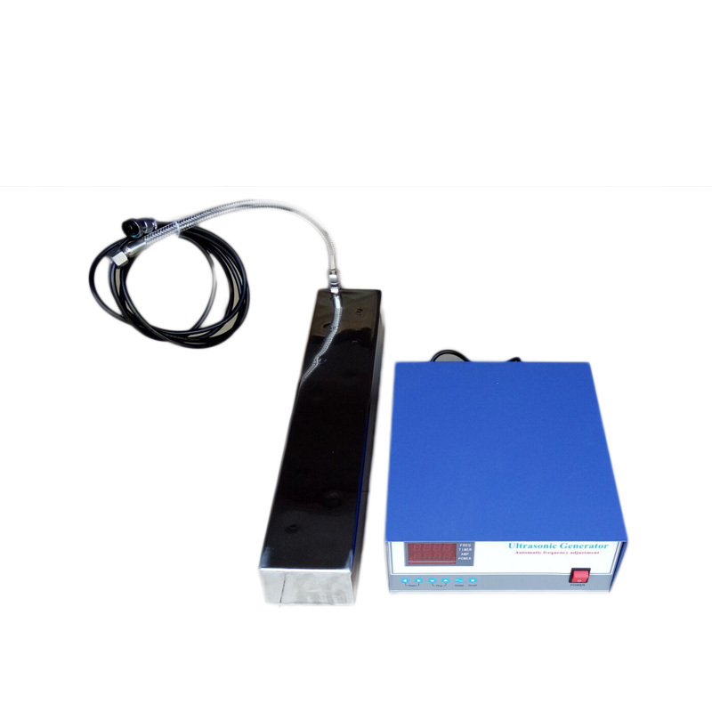 28KHz/40KHz Waterproof Ultrasonic Transducer Stainless Steel 316L Vibration Plate 2400W Ultrasonic Immersible Transducer Pack