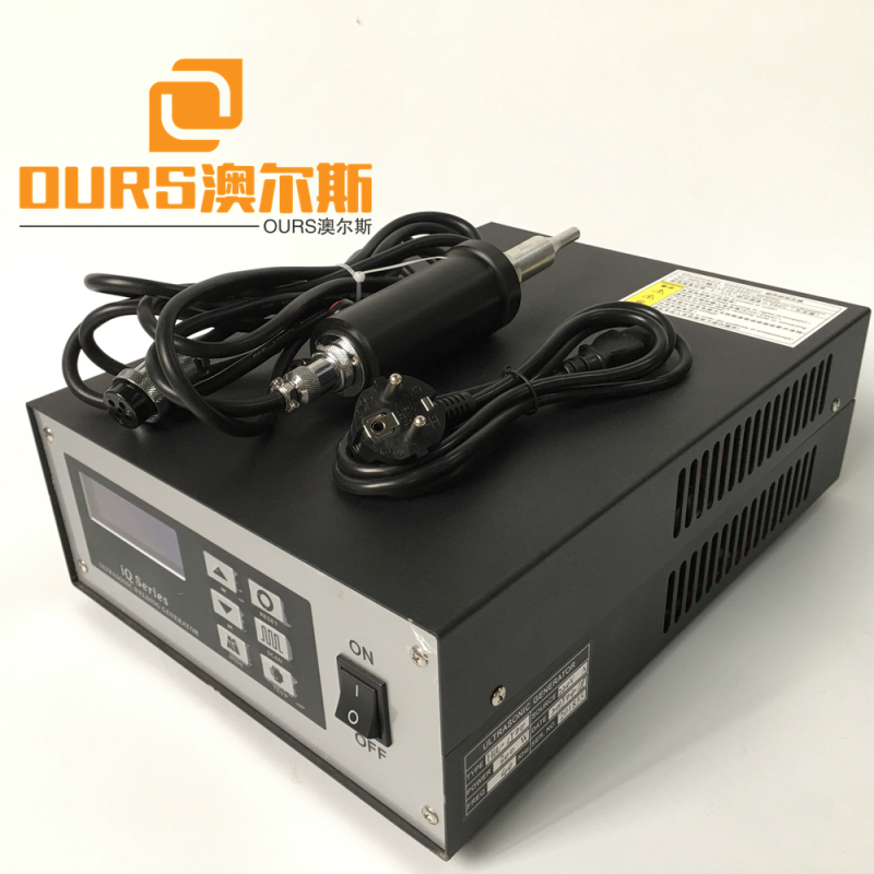 28khz 35khz High frequency digital ultrasonic welding generator and transducer for breathing masks welding machine