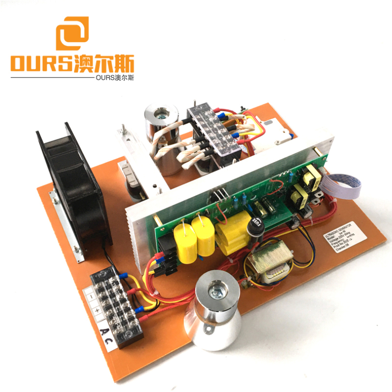 28KHZ 0-1000W Power Adjustable Ultrasonic Generator PCB With Sweep Function For Cleaning Motorcycle Parts